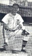 spo070272 - Steve Gromek Baseball Non Postcard Detroit Tigers Base Ball Postcard Post Card