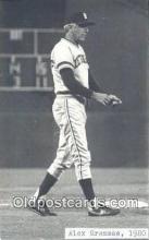 spo070273 - Alex Grammas Baseball Non Postcard Detroit Tigers Base Ball Postcard Post Card