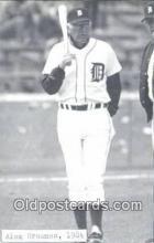 spo070274 - Alex Grammas Base Ball Postcard Detroit Tigers Baseball Postcard Post Card