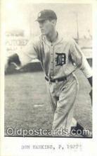 spo070275 - Don Hankins Base Ball Postcard Detroit Tigers Baseball Postcard Post Card