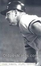 spo070279 - Frank Howard Base Ball Postcard Detroit Tigers Baseball Postcard Post Card
