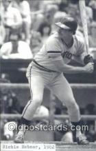 spo070282 - Richie Hebner Base Ball Postcard Detroit Tigers Baseball Postcard Post Card