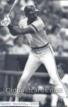 spo070286 - Larry Herndon Base Ball Postcard Detroit Tigers Baseball Postcard Post Card