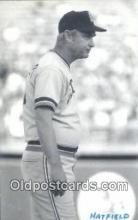spo070288 - Hatfield Base Ball Postcard Detroit Tigers Baseball Postcard Post Card