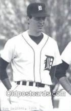 spo070289 - Don Heinkel Base Ball Postcard Detroit Tigers Baseball Postcard Post Card
