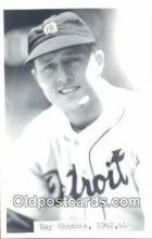 spo070292 - Roy Henshaw Base Ball Postcard Detroit Tigers Baseball Postcard Post Card