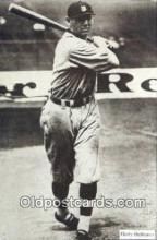 spo070295 - Harry Heilmann 1978 Dover Publishing, Base Ball Postcard Detroit Tigers Baseball Postcard Post Card