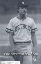 spo070302 - John Hiller Base Ball Postcard Detroit Tigers Baseball Postcard Post Card