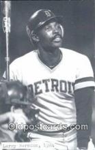 spo070304 - Larry Herndon Base Ball Postcard Detroit Tigers Baseball Postcard Post Card