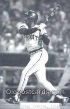 spo070305 - Larry Herndon Base Ball Postcard Detroit Tigers Baseball Postcard Post Card