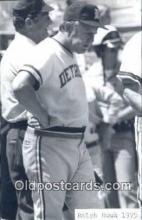 spo070307 - Ralph Houk Base Ball Postcard Detroit Tigers Baseball Postcard Post Card