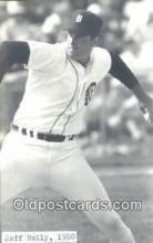 spo070309 - Jess Holly Baseball Non Postcard Detroit Tigers Base Ball Postcard Post Card