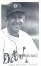 spo070310 - Chuck Hostetler Base Ball Postcard Detroit Tigers Baseball Postcard Post Card