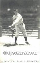 spo070313 - Chief Elon Hogsett Base Ball Postcard Detroit Tigers Baseball Postcard Post Card