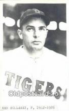 spo070314 - Ken Hollaway Base Ball Postcard Detroit Tigers Baseball Postcard Post Card