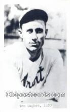 spo070319 - Tom Hughes Base Ball Postcard Detroit Tigers Baseball Postcard Post Card