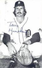 spo070320 - Terry Humphrey Baseball Non Postcard Detroit Tigers Base Ball Postcard Post Card