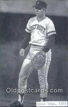 spo070325 - Mike Ivie Base Ball Postcard Detroit Tigers Baseball Postcard Post Card