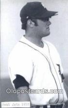 spo070326 - Paul Jata Base Ball Postcard Detroit Tigers Baseball Postcard Post Card