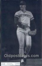 spo070331 - Bob James Base Ball Postcard Detroit Tigers Baseball Postcard Post Card