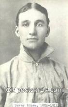 spo070336 - Davey Jones Base Ball Postcard Detroit Tigers Baseball Postcard Post Card
