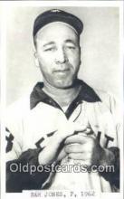 spo070338 - Sam Jones Base Ball Postcard Detroit Tigers Baseball Postcard Post Card