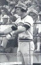 spo070339 - Ron Johnson Base Ball Postcard Detroit Tigers Baseball Postcard Post Card