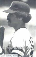 spo070340 - Lynn Jones Base Ball Non Postcard Detroit Tigers Baseball Postcard Post Card