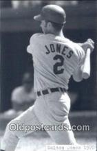 spo070341 - Dalton Jones Base Ball Postcard Detroit Tigers Baseball Postcard Post Card