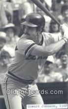 spo070345 - Howard Johnson Base Ball Non Postcard Detroit Tigers Baseball Postcard Post Card