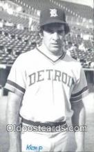 spo070349 - Steve Kemp Base Ball Postcard Detroit Tigers Baseball Postcard Post Card