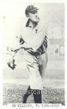 spo070352 - Ed Killian Base Ball Postcard Detroit Tigers Baseball Postcard Post Card