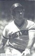 spo070354 - Steve Kemp Base Ball Non Postcard Detroit Tigers Baseball Postcard Post Card