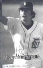 spo070356 - Mick Kelleher Base Ball Postcard Detroit Tigers Baseball Postcard Post Card