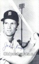 spo070363 - John Krox Base Ball Photograph, Non Postcard Detroit Tigers Baseball Postcard Post Card