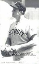 spo070364 - Ted Kozorski Base Ball Postcard Detroit Tigers Baseball Postcard Post Card