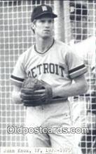 spo070365 - John Knox Base Ball Postcard Detroit Tigers Baseball Postcard Post Card
