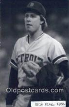 spo070366 - Eric King Base Ball Postcard Detroit Tigers Baseball Postcard Post Card