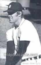 spo070371 - Bruce Kimm Base Ball Postcard Detroit Tigers Baseball Postcard Post Card