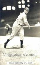 spo070374 - Chad Kimsey Base Ball Postcard Detroit Tigers Baseball Postcard Post Card