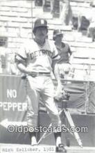spo070376 - Mick Kelleher Base Ball Non Postcard Detroit Tigers Baseball Postcard Post Card