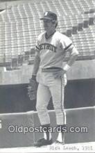 spo070384 - Rick Leach Base Ball Non Postcard Detroit Tigers Baseball Postcard Post Card