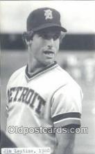 spo070387 - Jim Lentine Base Ball Non Postcard Detroit Tigers Baseball Postcard Post Card