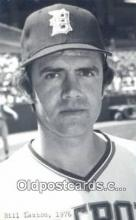 spo070393 - Bill Laxton Base Ball Postcard Detroit Tigers Baseball Postcard Post Card
