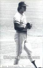 spo070394 - Dave Lemanczyk Base Ball Postcard Detroit Tigers Baseball Postcard Post Card