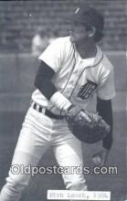 spo070396 - Rick Leach Base Ball Postcard Detroit Tigers Baseball Postcard Post Card
