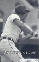 spo070400 - Mike Laga Base Ball Non Postcard Detroit Tigers Baseball Postcard Post Card
