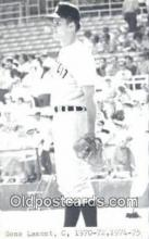 spo070401 - Gene Lamont Base Ball Postcard Detroit Tigers Baseball Postcard Post Card