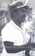 spo070405 - Chet Lemon Base Ball Postcard Detroit Tigers Baseball Postcard Post Card