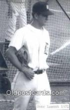 spo070406 - Gene Lamont Base Ball Postcard Detroit Tigers Baseball Postcard Post Card